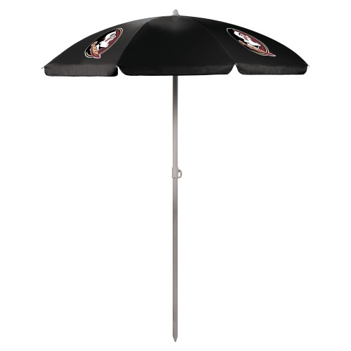 Florida State Seminoles – 5.5 Ft. Portable Beach Umbrella, (Black)