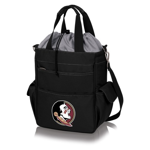 Florida State Seminoles – Activo Cooler Tote Bag, (Black with Gray Accents)