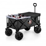 Florida State Seminoles – Adventure Wagon Elite All-Terrain Portable Utility Wagon, (Dark Gray)