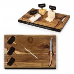 Florida State Seminoles – Delio Acacia Cheese Cutting Board & Tools Set, (Acacia Wood)