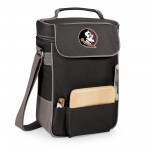 Florida State Seminoles – Duet Wine & Cheese Tote, (Black with Gray Accents)