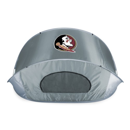 Florida State Seminoles – Manta Portable Beach Tent, (Gray with Black Accents)