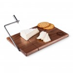 Florida State Seminoles – Meridian Black Walnut Cutting Board & Cheese Slicer, (Black Walnut)
