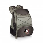 Florida State Seminoles – PTX Backpack Cooler, (Black with Gray Accents)