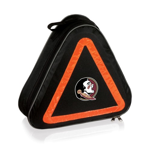 Florida State Seminoles – Roadside Emergency Car Kit, (Black with Orange Accents)