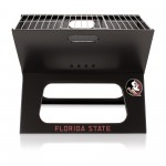 Florida State Seminoles – X-Grill Portable Charcoal BBQ Grill, (Black)