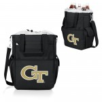Georgia Tech Yellow Jackets – Activo Cooler Tote Bag, (Black with Gray Accents)