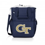 Georgia Tech Yellow Jackets – Activo Cooler Tote Bag, (Navy Blue with Gray Accents)