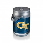 Georgia Tech Yellow Jackets – Can Cooler, (Silver)