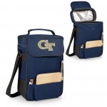 Georgia Tech Yellow Jackets – Duet Wine & Cheese Tote, (Navy Blue)