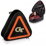 Georgia Tech Yellow Jackets – Roadside Emergency Car Kit, (Black with Orange Accents)