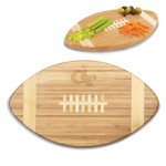 Georgia Tech Yellow Jackets – Touchdown! Football Cutting Board & Serving Tray, (Bamboo)