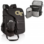Georgia Tech Yellow Jackets – Turismo Travel Backpack Cooler, (Black)