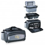 Georgia Tech Yellow Jackets – Vulcan Portable Propane Grill & Cooler Tote, (Black with Gray Accents)