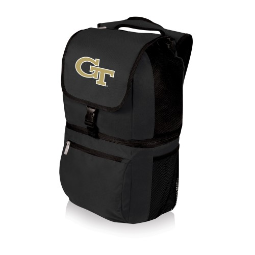 Georgia Tech Yellow Jackets – Zuma Backpack Cooler, (Black)