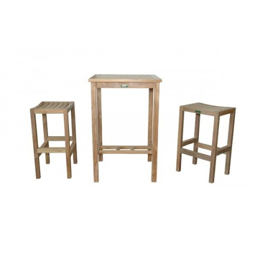 Bahama Montego 3-Pieces Square Bar Set