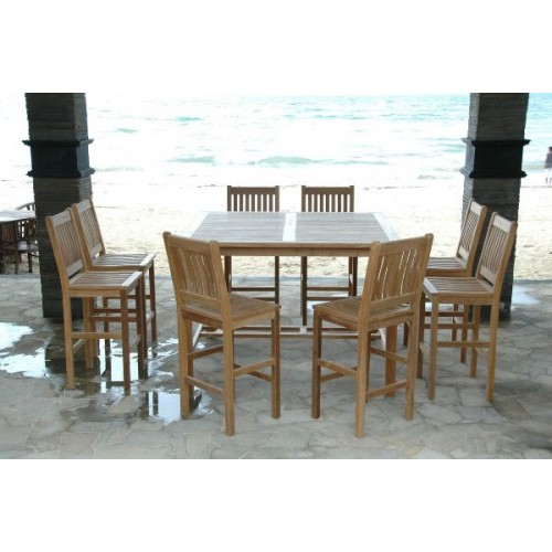 Windsor Avalon 9-Pieces Square Bar Set