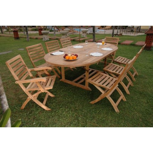Bahama Andrew 9-Pieces Dining Set