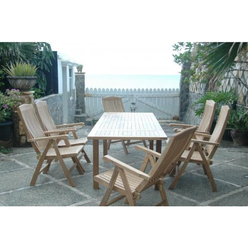 Bahama Katana 7-Pieces Dining Set