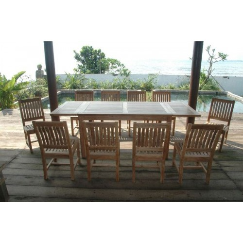 Bahama Rialto 11-Pieces Rectangular Dining Set