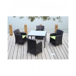 Palm Beach 5-Pieces Dining Table Set