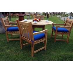 Tosca Classic Armchair 5-Pieces Dining Set