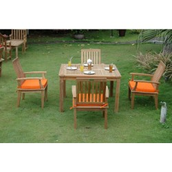 Windsor Brianna 5-Pieces Dining Table Set