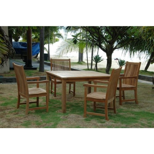 Windsor Chicago 5-Pieces Dining Table Set