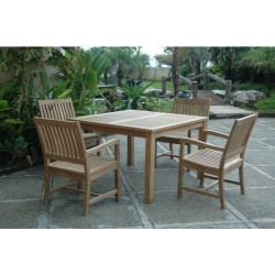 Windsor Rialto Armchair 5-Pieces Dining Set