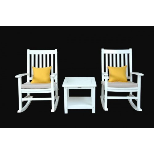 Barcelona 3-Pieces Rocking Armchair Set