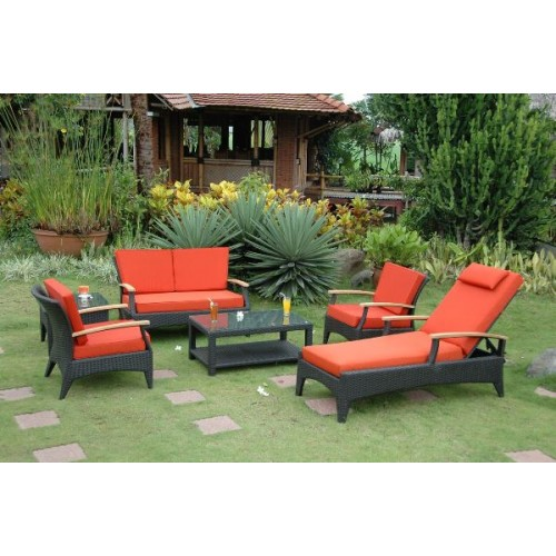 Bellagio 6-Pieces Deep Seating Set