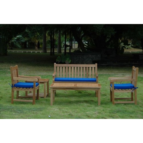 Classic 2-Seater 5-Pieces Conversation Set