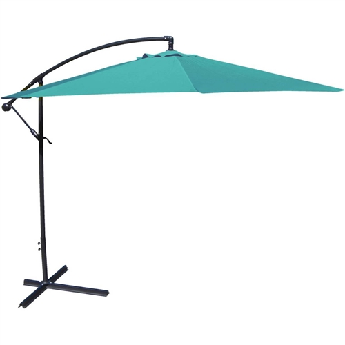 10-Ft Offset Cantilever Patio Umbrella with Canopy