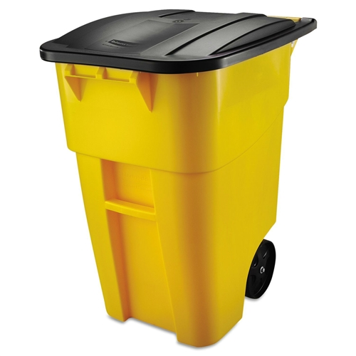 50 Gallon Commercial Heavy-Duty Trash Can with Lid