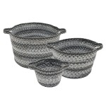Graphite Ultra Durable Braided Basket