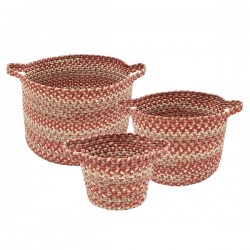 Terracotta Ultra Durable Braided Basket