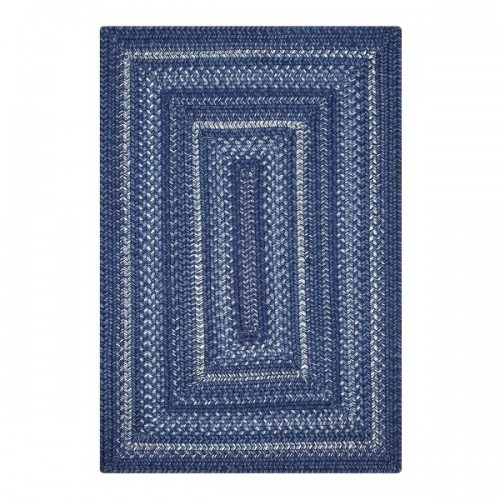 "Homespice Decor 10 x 10"" Sample Indigo Ultra Durable Braided Swatch"