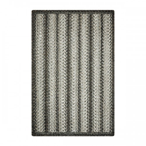 "Homespice Decor 20 x 30"" Rect. Carbon Ultra Durable Braided Slim"