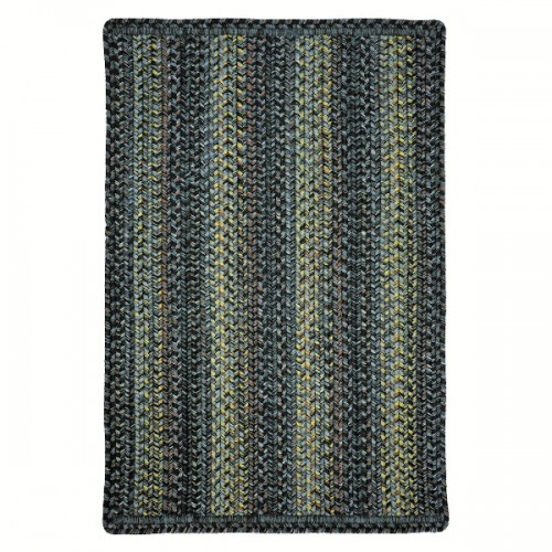 "Homespice Decor 20 x 30"" Rect. Dusky Ultra Durable Braided Slim"