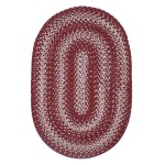 Barn Red Ultra Durable Braided Rugs