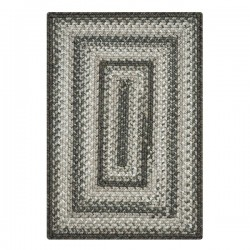 Graphite Ultra Durable Braided Rugs
