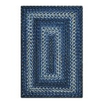 Navy Ultra Durable Braided Rugs