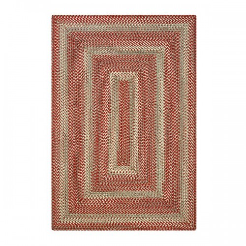 Terracotta Ultra Durable Braided Rugs