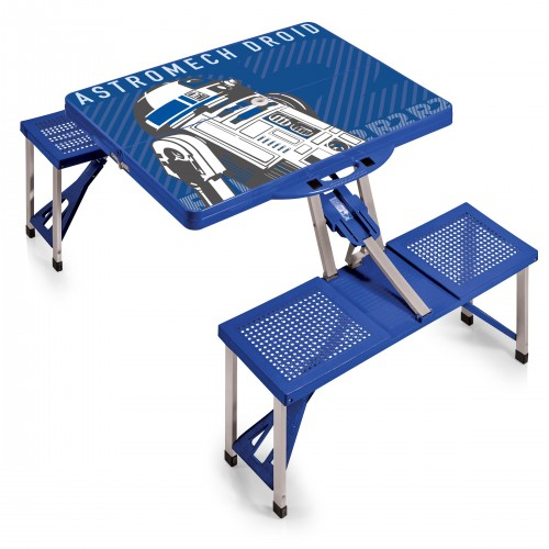 STAR WARS R2-D2 – PICNIC TABLE PORTABLE FOLDING TABLE WITH SEATS