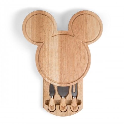MICKEY MOUSE – HEAD SHAPED CHEESE BOARD WITH TOOLS
