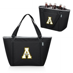 APP STATE MOUNTAINEERS – TOPANGA COOLER TOTE BAG, (BLACK)