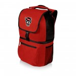 NC STATE WOLFPACK – ZUMA BACKPACK COOLER, (RED)