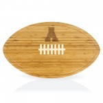 APP STATE MOUNTAINEERS – KICKOFF FOOTBALL CUTTING BOARD & SERVING TRAY, (BAMBOO)