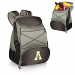 APP STATE MOUNTAINEERS – BACKPACK COOLER, (BLACK WITH GRAY ACCENTS)