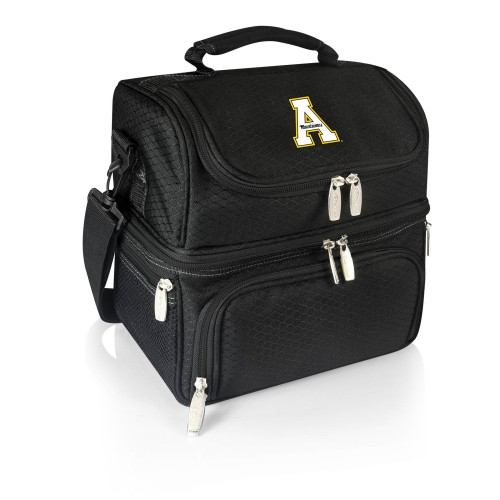 APP STATE MOUNTAINEERS – LUNCH COOLER BAG, (BLACK)